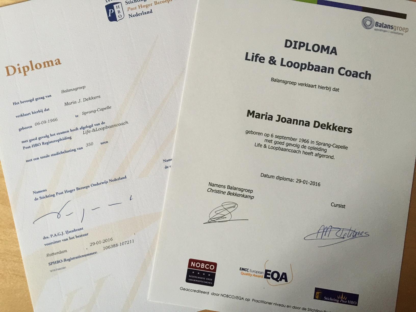 diploma life- & loopbaancoach